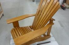 Seasider Adirondack Stuhl lasiert Lärche natur