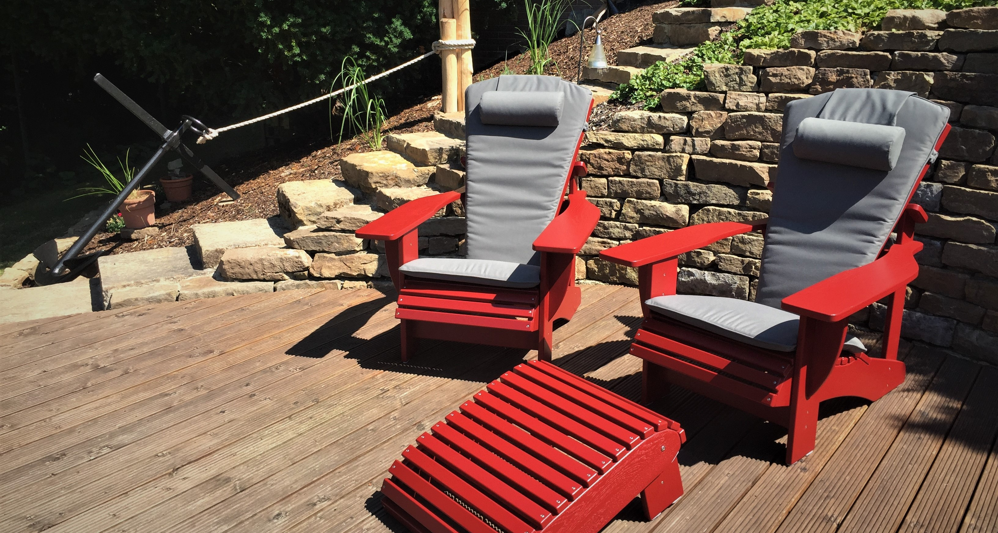 BeSeaside Adirondack Chair Sitzauflage