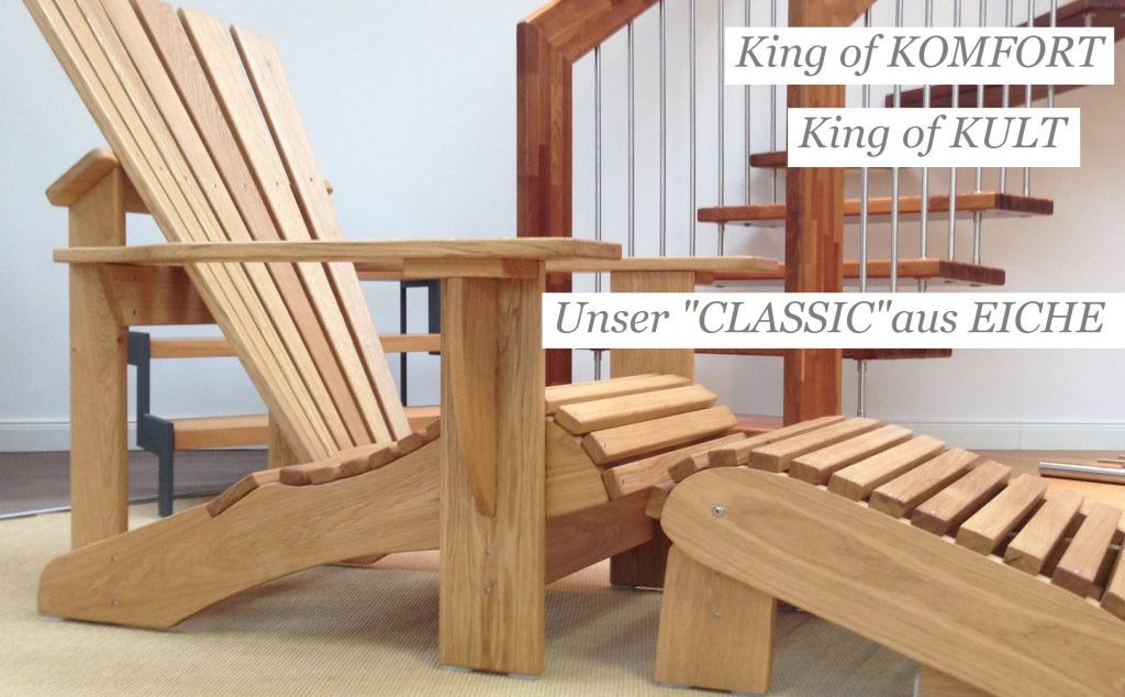 CLASSIC Adirondack Chair ★ BeSeaside