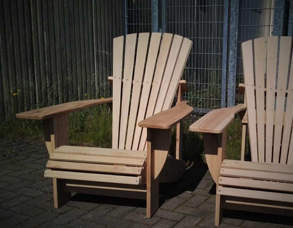 BeSeaside Alsterstuhl Seasider Chair Adirondack Chair Hamburg