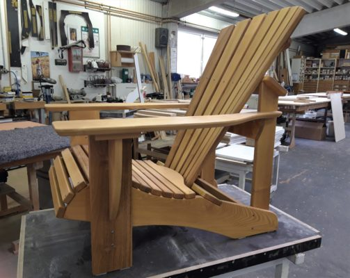 Adirondack Chair ROBINIE Holz, Seasider Chair CLASSIC