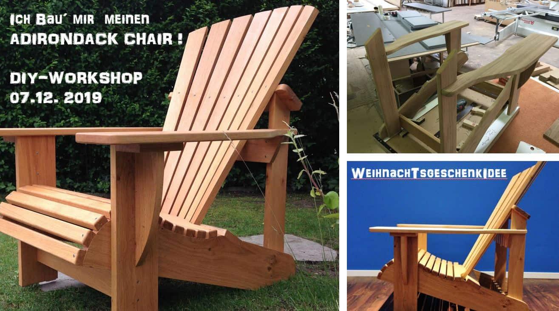 BeSeaside Workshop Adirondack Chair selber bauen