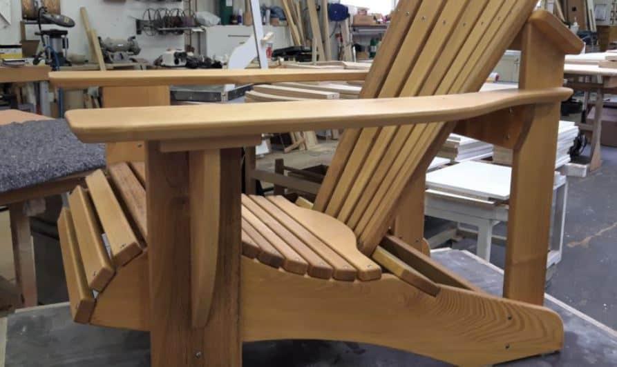 Schweizer Kante Facettenkante Adirondack Chair BeSeasie