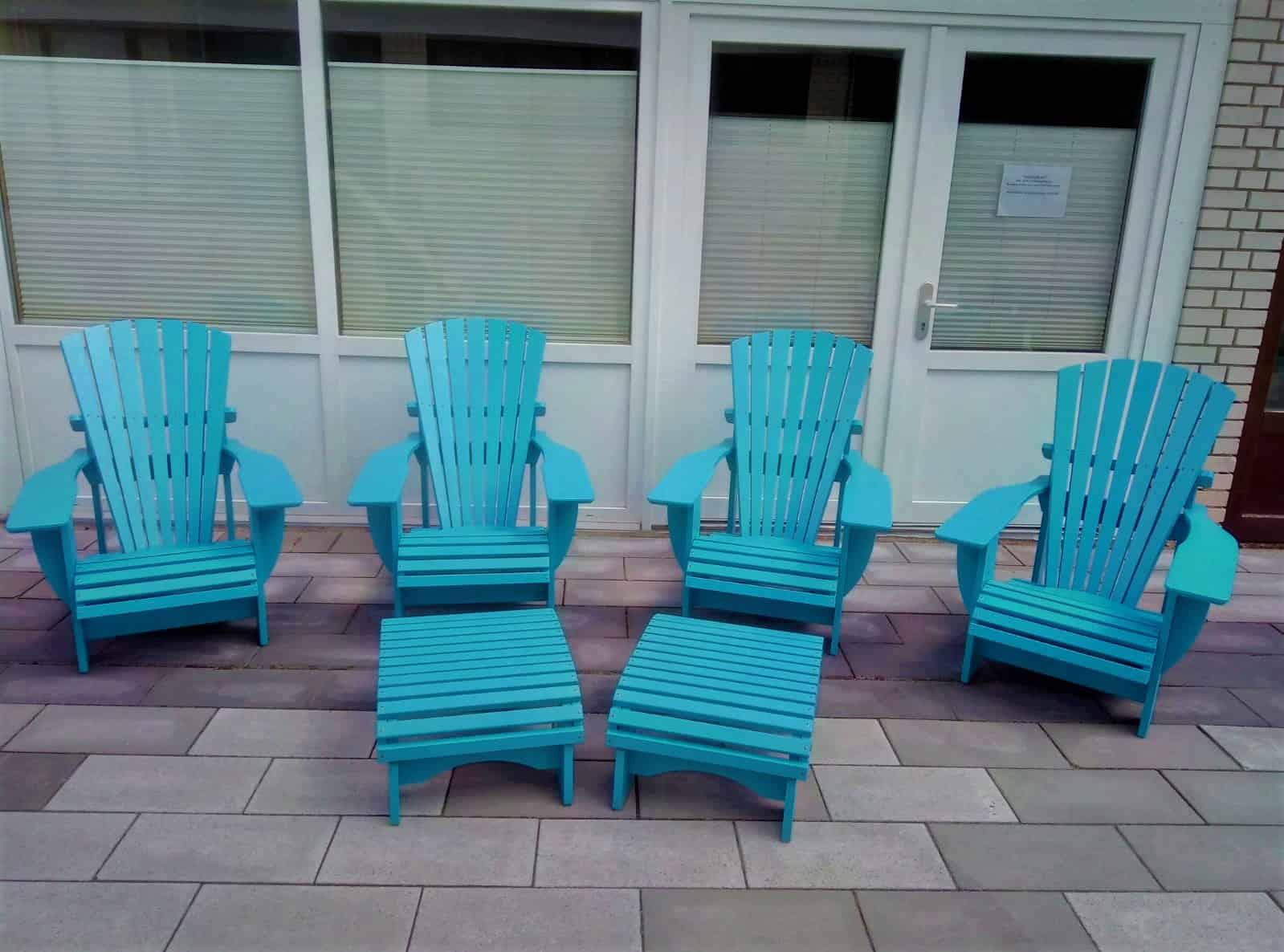 BeSeaside Adirondack Chairs Deck Chairs