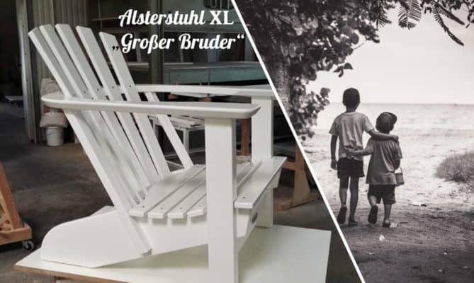 BeSeaside Alsterstuhl XL Großer Bruder