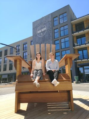 BeSeaside Adirondack Chair XXL Papa Rhein Hotel