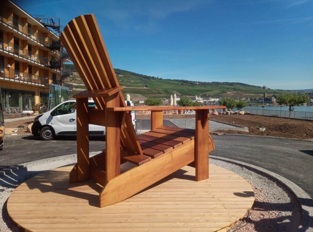 Adirondack Chair BigBoy XXL BeSeaside