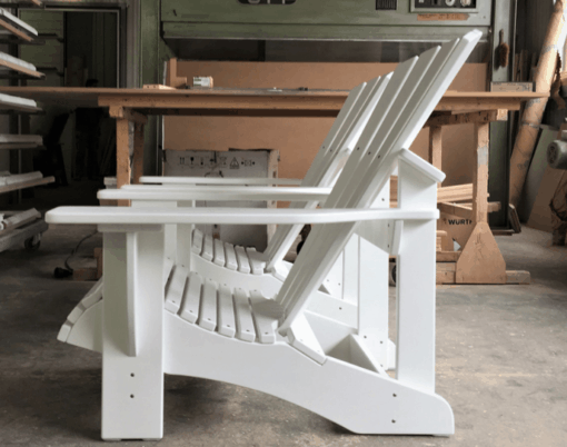 Adirondack Chair BeSeaside CLASSIC weiss lackiert