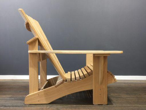 Premium Adirondack Chair BeSeaside EICHE unbehandelt