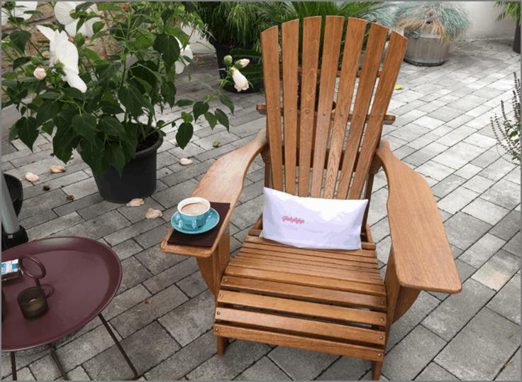 BeSeaside CLASSIC Chair Eiche