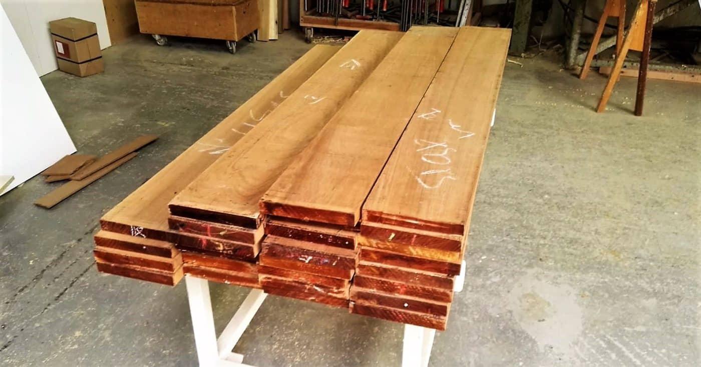 BeSeaside Teak Holz FSC zertifiziert fuer unsere BeSeaside Chairs
