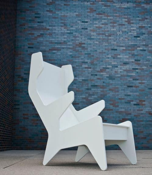 Rapson Cave Chair white LollDesigns 02012021