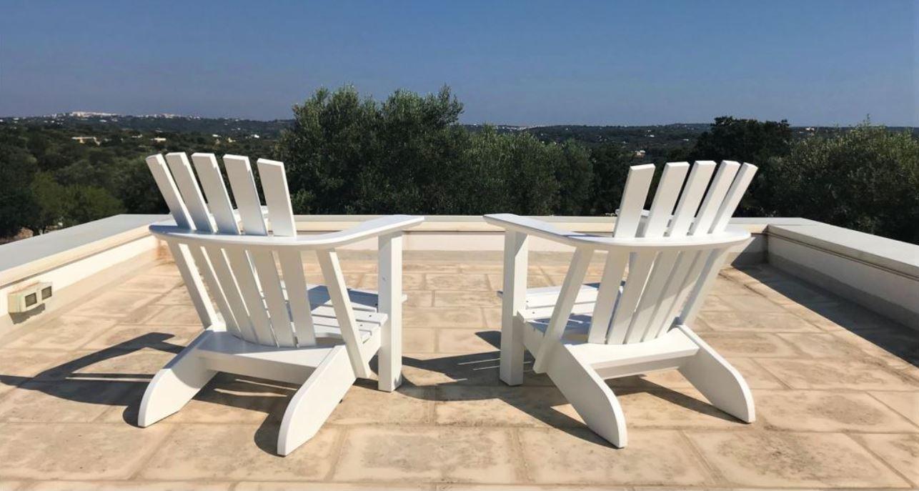 Original Alsterstühle Hummelstühle weiß lackiert
