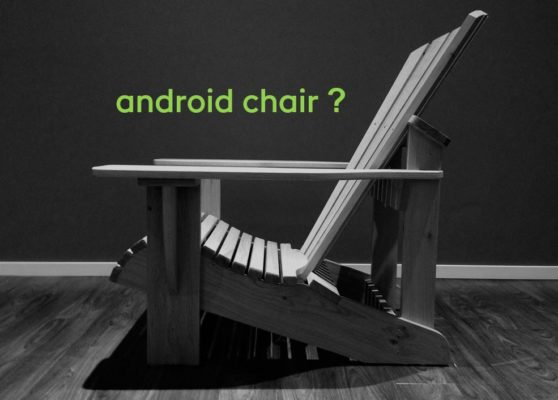 BeSeaside android chair adirondack chair namen 13022021 green android neu2