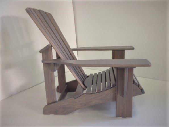 BeSeaside Seasider Chair lasiert taubenblau 8
