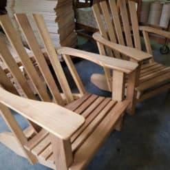 Alsterstuhl XL Großer Bruder Iroko Holz unbehandelt