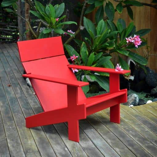 Loll Designs Lollygagger Premium Adirondack Chair aus Kunststoff