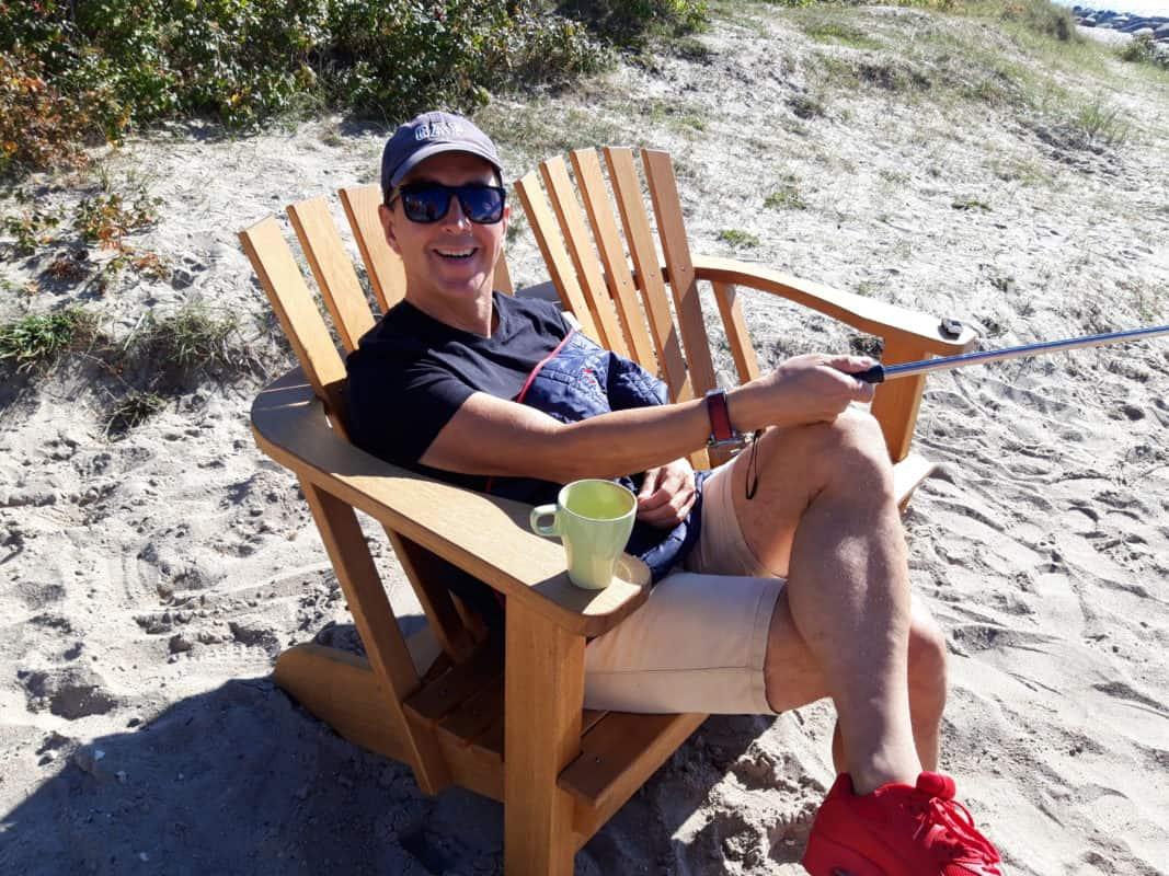 beseaside alsterbank chillen und relaxen am strand fehmarn café sor enfrei