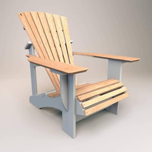 adirondack chair classic eiche lackiert duotone