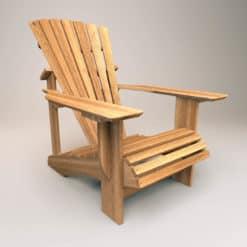 adirondack chair classic iroko unbehandelt