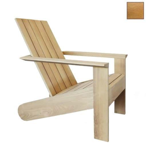 ESPRESSO Design Adirondack Stuhl in Iroko