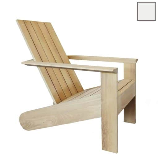 ESPRESSO Design Adirondack Stuhl - Blütenweiß Ral 9016