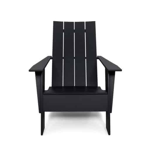 BeSeaside LOLLDESIGNS Chair Adirondack 4slat tall front