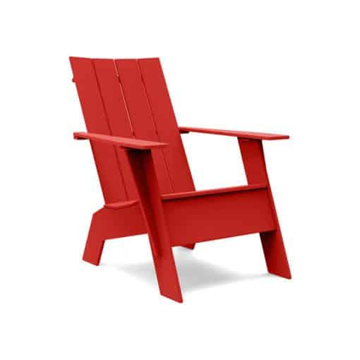 Loll Designs Adirondack Chair 4slat tall in rot