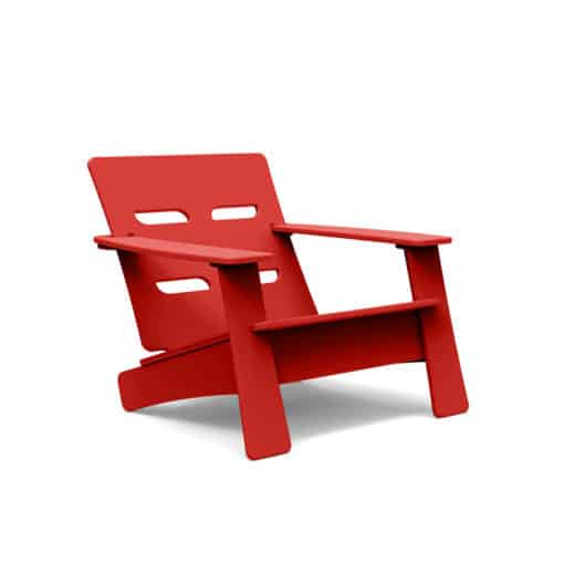 BeSeaside LOLLDESIGNS Cabrio Chair red