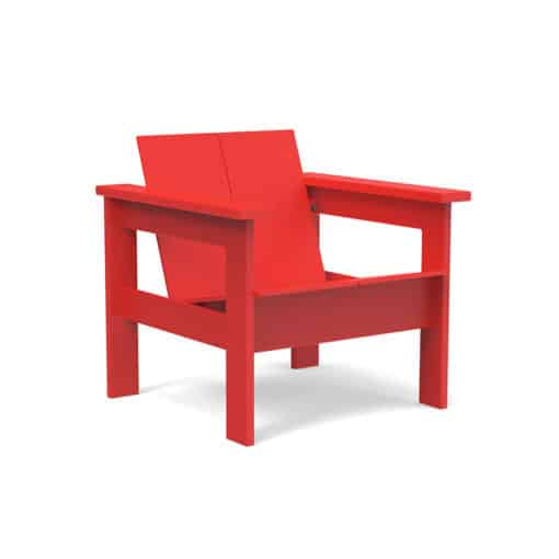 BeSeaside LOLLDESIGNS Lounge Chair Hennepin red