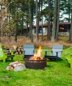 lolldesigns lolly ag er loun e chairs lc ll leafgreeng ruen black schwarz fireplace premium adirondack chair kunststoff
