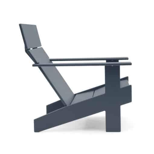 Lollygagger Lounge Adirondack Chair grau seitenansicht