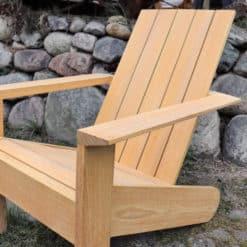 ESPRESSO Premium Design Adirondack Chair