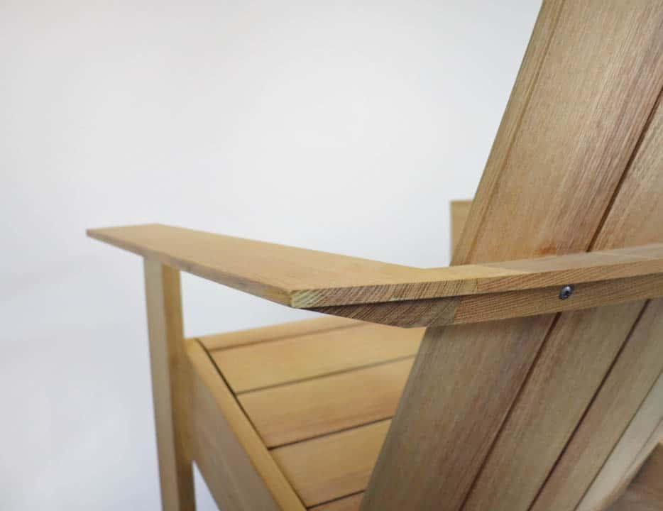 BeSeaside ESPRESSO - moderner Adirondack Chair