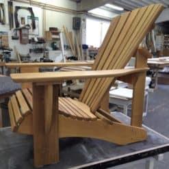 beseaside adirondack chair modell classic robinie geoelt farblos natur